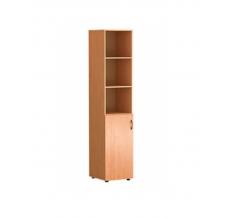 Шкаф для документов «Директор» узкий полуоткрытый