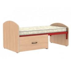 Кровать раздвижная с выдвижным ящиком
