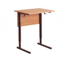 Стол ученический 1-местный регулируемый 2-4, 3-5, 4-6 гр.