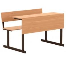 Парта 2-местная (лавка за столом)