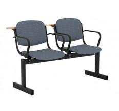 2-местный, не откидывающиеся сиденья, мягкий, с подлокотниками, лекционный