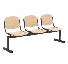 3-местный, не откидывающиеся сиденья