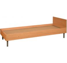 Кровать с панелями из ламината