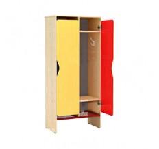 Дверь шкафа для одежды цветная